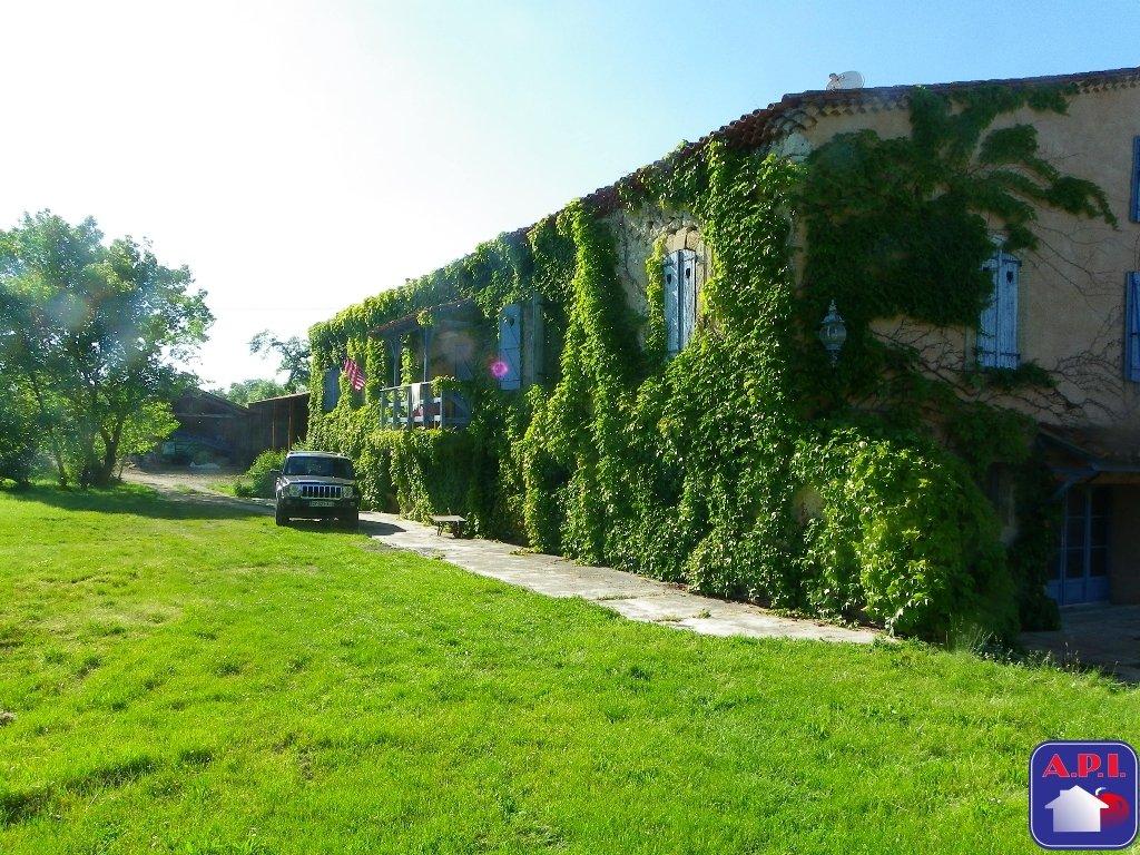 vente maison/villa 8 pièces LEZAT SUR LEZE 09210