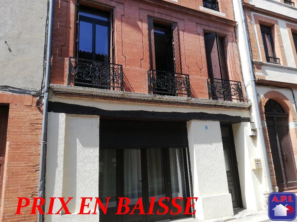 vente maison/villa 6 pièces LEZAT SUR LEZE 09210
