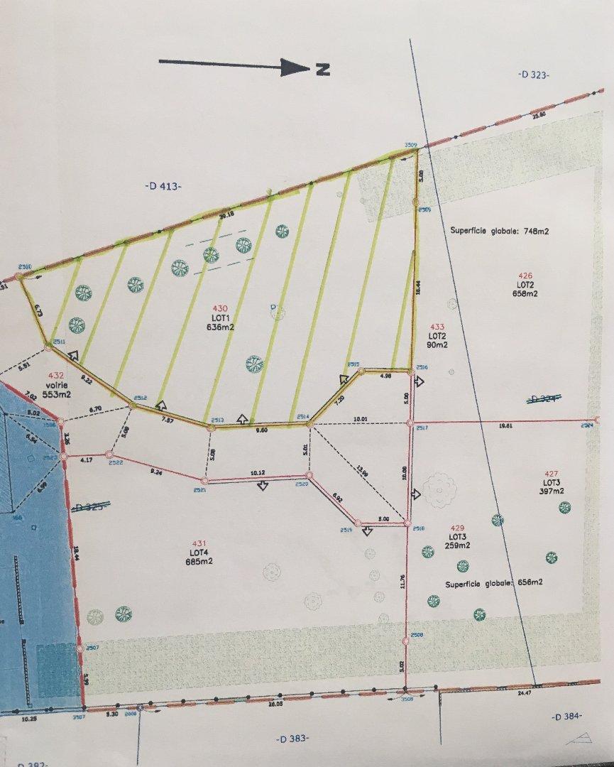 vente terrain GENLIS GENLIS 21110