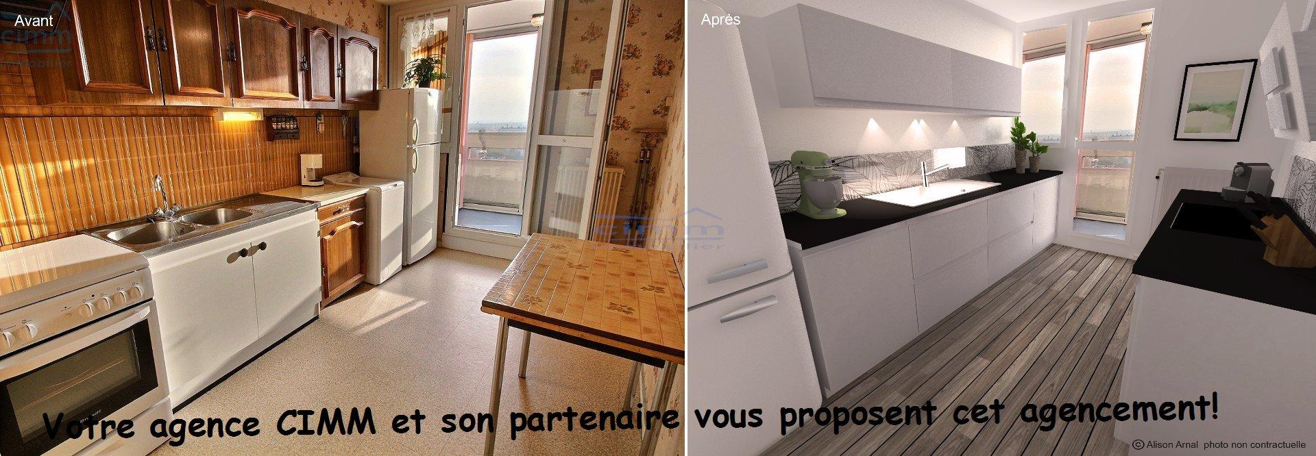 vente appartement 3 pièces CHENOVE 21300