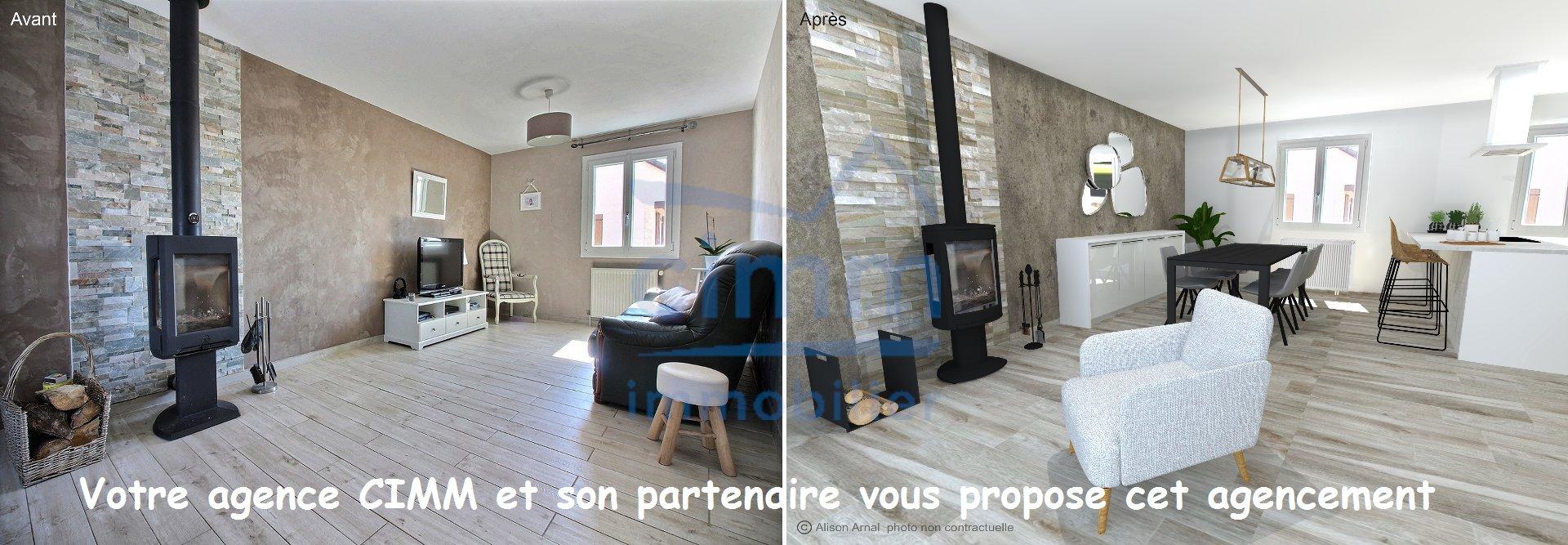 En excusivité chez CIMM IMMOBILIER GENLIS !    AISEREY: 20km de Dijon, secteur dijon-est: dans un quartier au calme, maison INDIVIDUELLE édifiée sur sous-sol complet offrant tout le confort pour votre famille!    AGENCEMENT - DISPOSITION :  Vaste entrée desservant un salon-séjour avec poêle à bois de 2014 accès terrasse, une belle cuisine équipée pouvant être ouverte sur le séjour, trois chambres avec parquet, une salle de bains avec double vasque et un wc séparé.    Vous trouverez également un sous-sol complet composé d'un garage double de 45m², d'une pièce aménagée, d'une cave, d'un bûcher, d'une cuisine d'été et d'une buanderie.    Le tout sur un joli terrain clos de 816m² avec un abri de jardin.    Les plus : maison individuelle avec l'espace vie sur un même niveau, double vitrage PVC, tableau électrique refait en 2017. Belle rénovation sur l'ensemble de la maison.    ELEMENTS FINANCIERS ET ENERGETIQUES :  Son prix : 209 000€, honoraires charge vendeur inclus.  Taxe foncière: 1130€  DPE : D.    Info utile : AISEREY est situé à 20 min des portes de DIJON avec écoles maternelle et élémentaire et toutes les commodités nécéssaires.    Votre conseillère:   Jennifer DELORME, agent commercial.  Agence Cimm Genlis, 7 cours des Martyrs de la Résistance et/ou 1 route de Dijon (21110). Tél. 06.19.14.10.29  Courriel : genlis@cimm-immobilier.fr ; Photos sur notre site : www.cimm.com ; SIREN 808 065 015 (Réf.789jd)