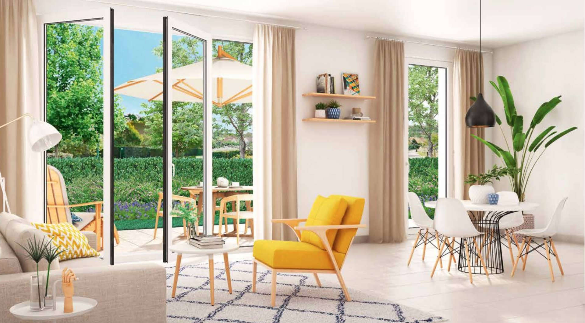 vente appartement 2 pièces SAINT JEAN DE VEDAS 34430