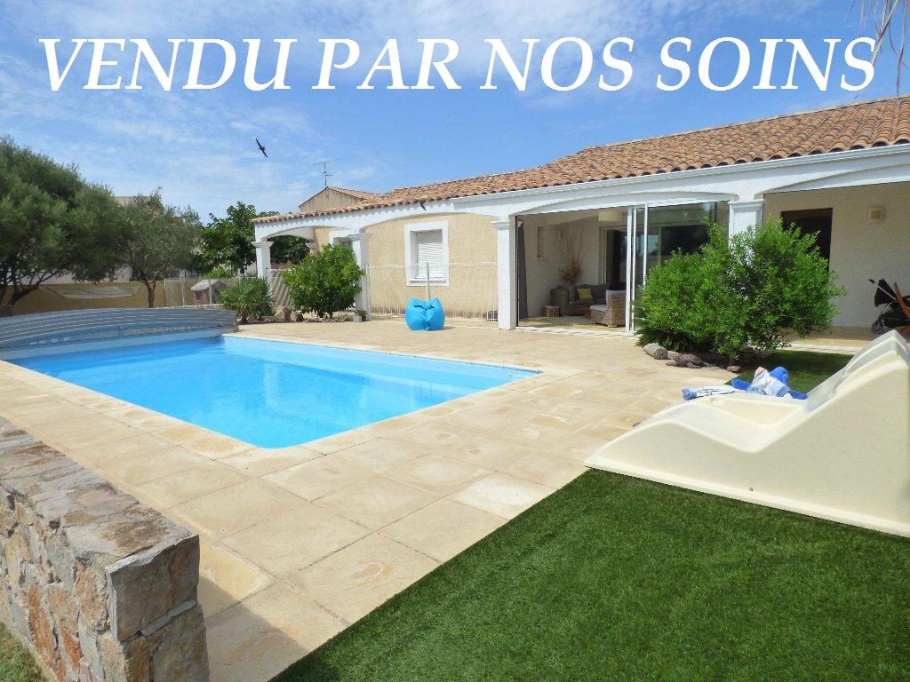 vente maison/villa 6 pièces SAINT JEAN DE VEDAS 34430
