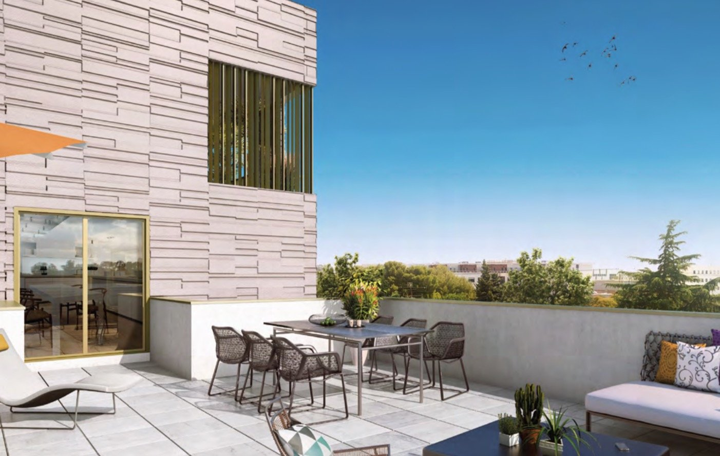 vente appartement 4 pièces MONTPELLIER 34000