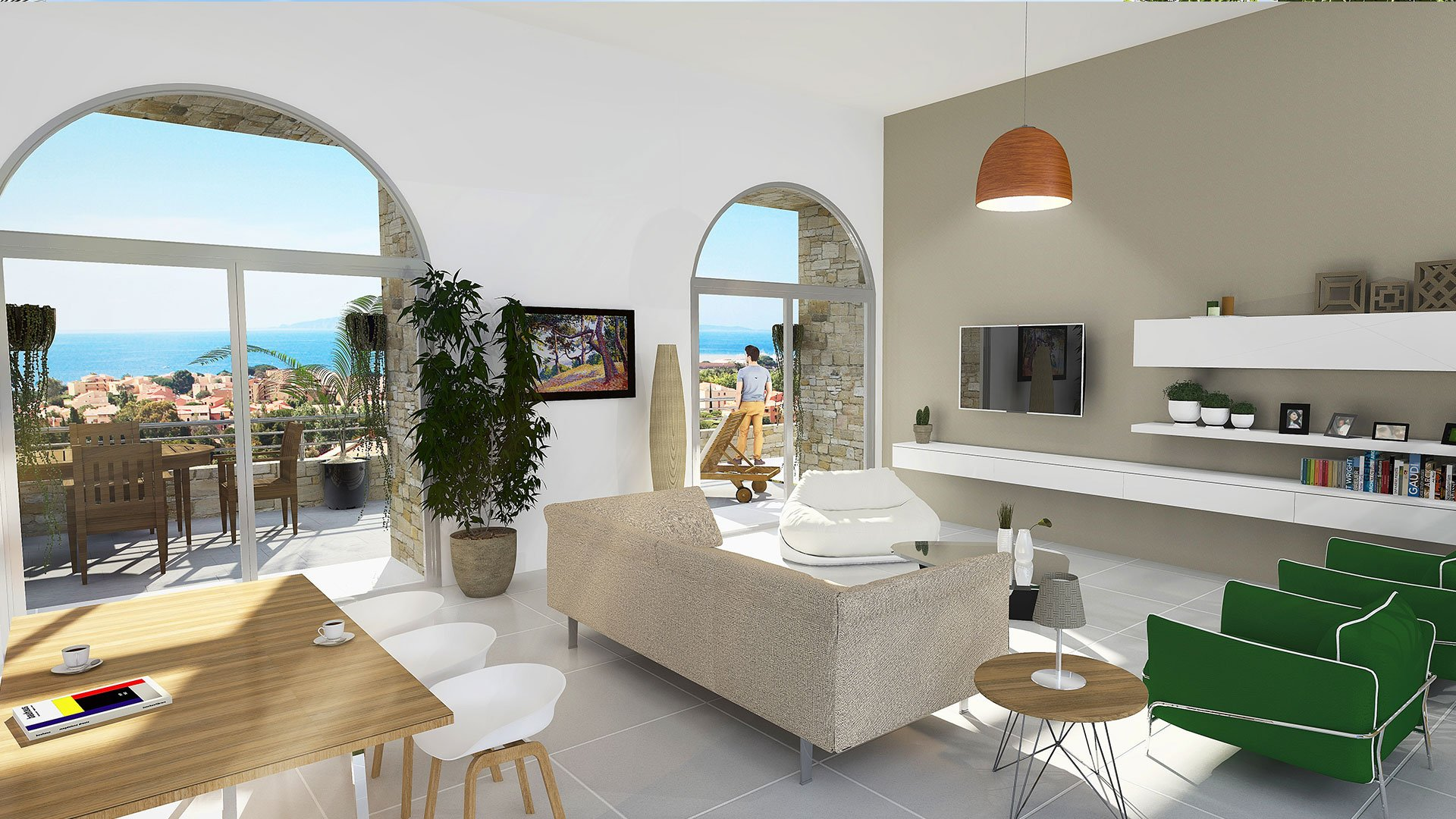 vente appartement 4 pièces LA LONDE LES MAURES 83250