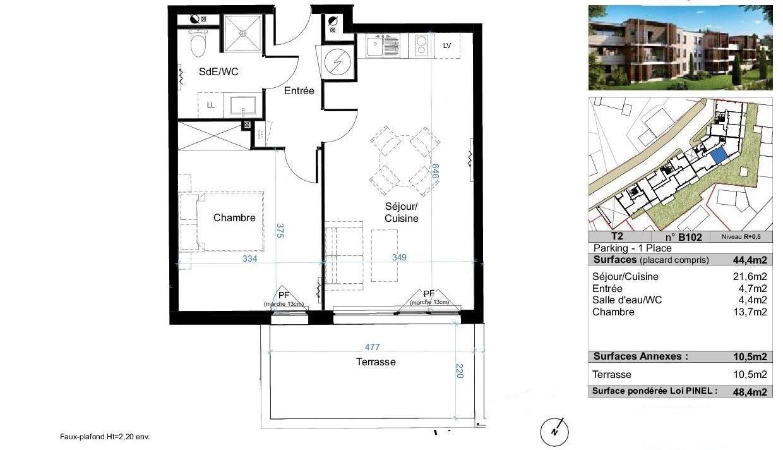 vente appartement 2 pièces CANDILLARGUES 34130