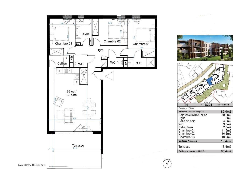 vente appartement 4 pièces CANDILLARGUES 34130