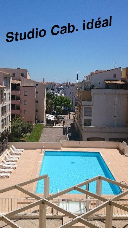 vente appartement 1 pièces LE CAP D'AGDE 34300