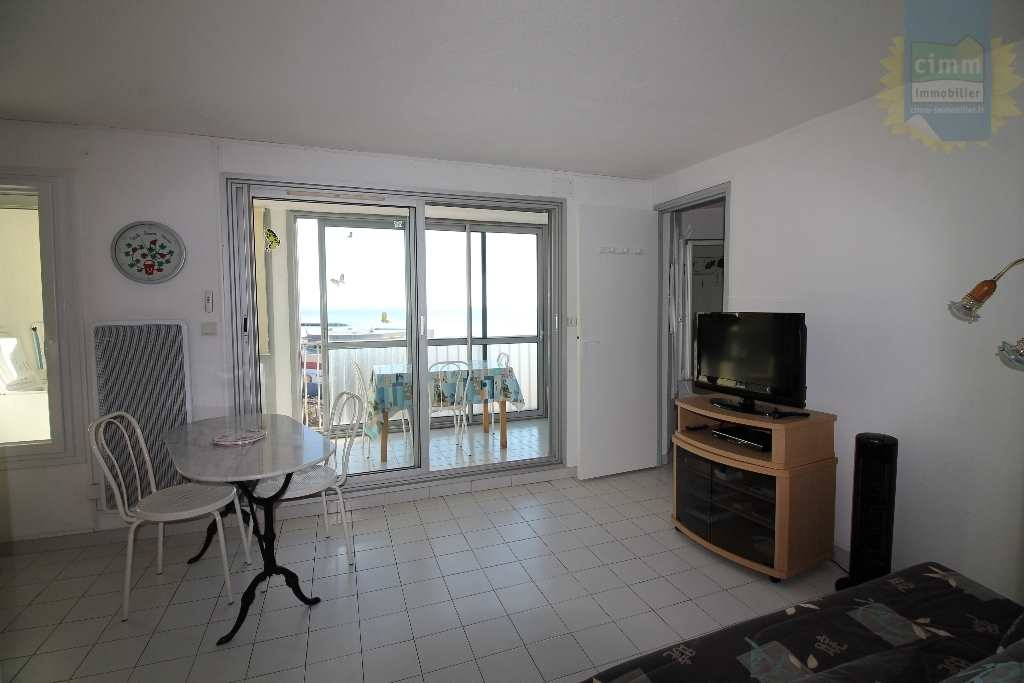 IMMOPLAGE VALRAS-PLAGE, agence immobilière, vente, location et location vacances appartement et maison entre Agde/Sete et Narbonne, proche Béziers - Appartement en résidence - VALRAS PLAGE - Location Vacances - 44m²