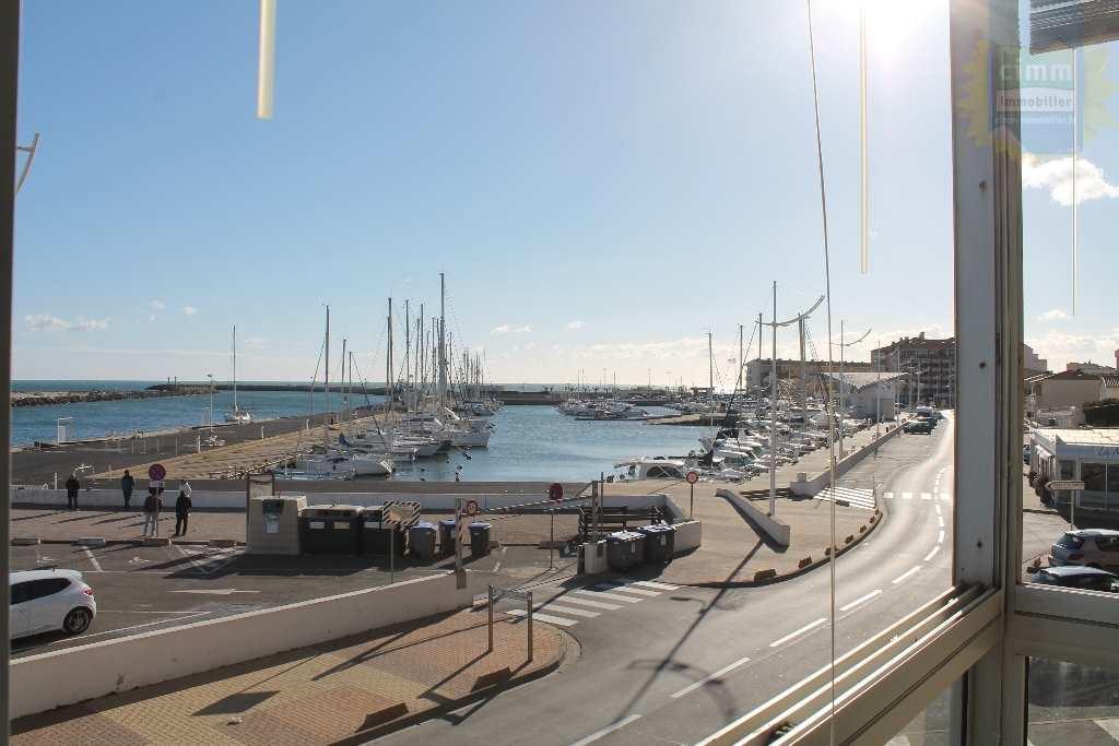 IMMOPLAGE VALRAS-PLAGE, agence immobilière, vente, location et location vacances appartement et maison entre Agde/Sete et Narbonne, proche Béziers - Appartement en résidence - VALRAS PLAGE - Location Vacances - 22m²
