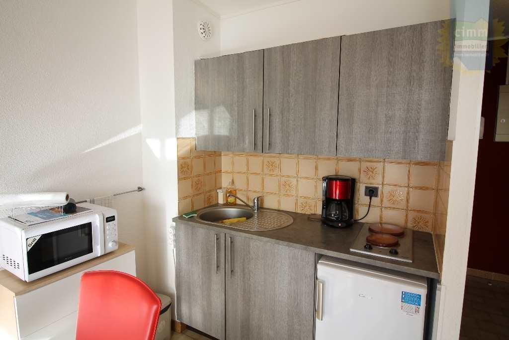IMMOPLAGE VALRAS-PLAGE, agence immobilière, vente, location et location vacances appartement et maison entre Agde/Sete et Narbonne, proche Béziers - Appartement - VALRAS PLAGE - Location Vacances - 23m²