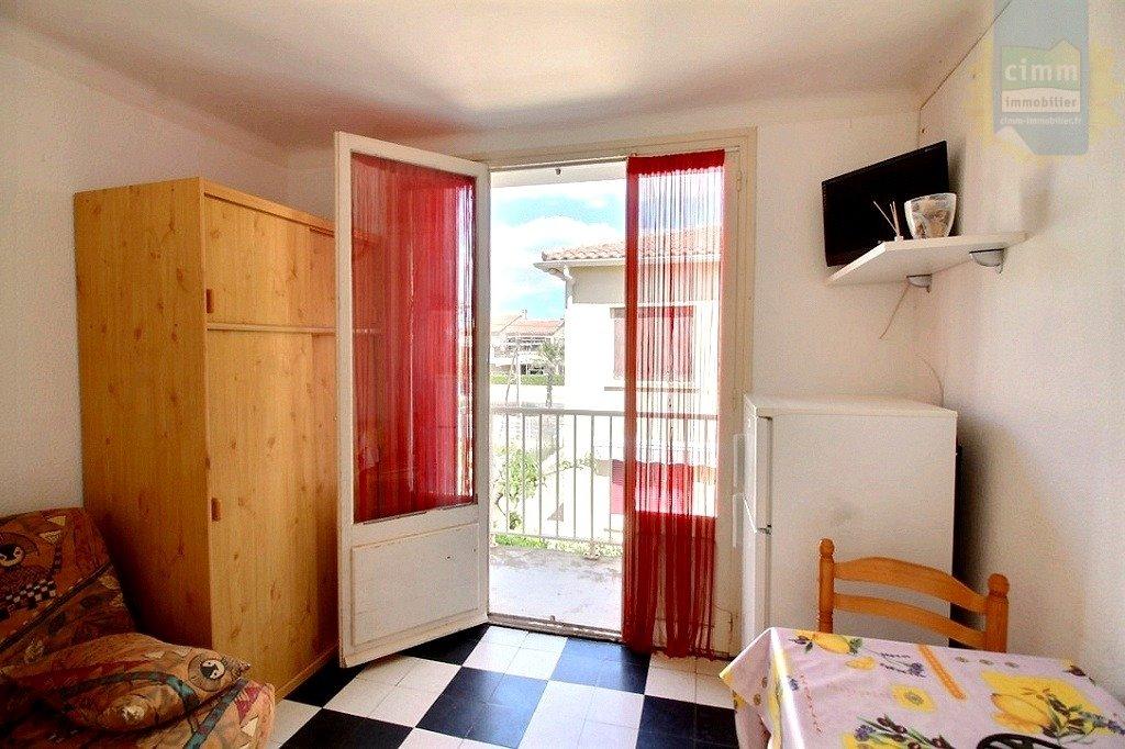 IMMOPLAGE VALRAS-PLAGE, agence immobilière, vente, location et location vacances appartement et maison entre Agde/Sete et Narbonne, proche Béziers - Appartement - VALRAS PLAGE - Vente - 17m²