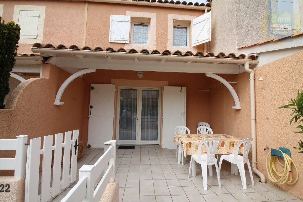 IMMOPLAGE VALRAS-PLAGE, agence immobilière, vente, location et location vacances appartement et maison entre Agde/Sete et Narbonne, proche Béziers - Pavillon - VALRAS PLAGE - Location Vacances - 41m²