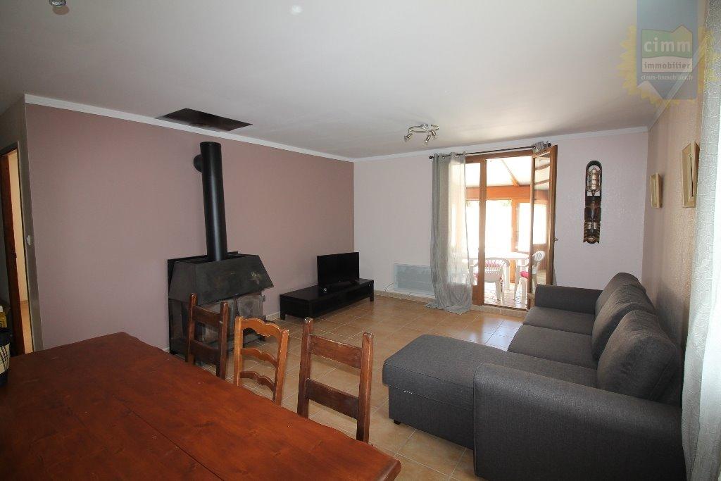 IMMOPLAGE VALRAS-PLAGE, agence immobilière, vente, location et location vacances appartement et maison entre Agde/Sete et Narbonne, proche Béziers - Maison - SAUVIAN - Location Vacances - 92m²