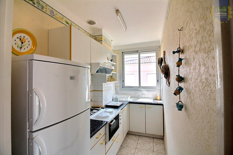 IMMOPLAGE VALRAS-PLAGE, agence immobilière, vente, location et location vacances appartement et maison entre Agde/Sete et Narbonne, proche Béziers - Appartement - VALRAS PLAGE - Vente - 33m²