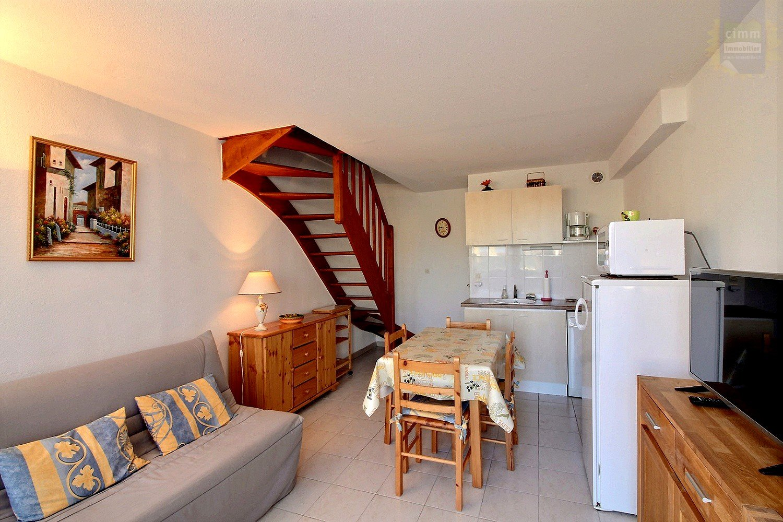 IMMOPLAGE VALRAS-PLAGE, agence immobilière, vente, location et location vacances appartement et maison entre Agde/Sete et Narbonne, proche Béziers - Maison mitoyenne - VALRAS PLAGE - Vente - 33m²