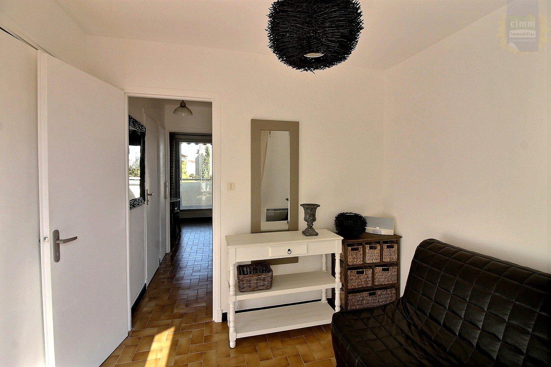IMMOPLAGE VALRAS-PLAGE, agence immobilière, vente, location et location vacances appartement et maison entre Agde/Sete et Narbonne, proche Béziers - Appartement - VALRAS PLAGE - Vente - 24m²