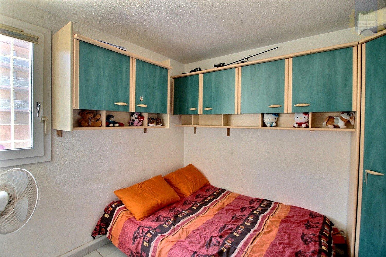 IMMOPLAGE VALRAS-PLAGE, agence immobilière, vente, location et location vacances appartement et maison entre Agde/Sete et Narbonne, proche Béziers - Appartement en rez-de-jardin - VALRAS PLAGE - Vente - 41m²