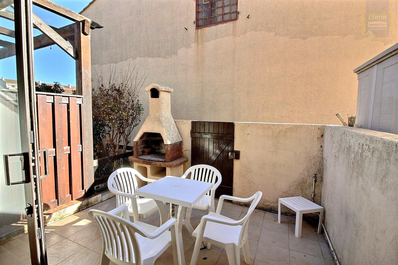 IMMOPLAGE VALRAS-PLAGE, agence immobilière, vente, location et location vacances appartement et maison entre Agde/Sete et Narbonne, proche Béziers - Maison - VALRAS PLAGE - Location Vacances - 37m²