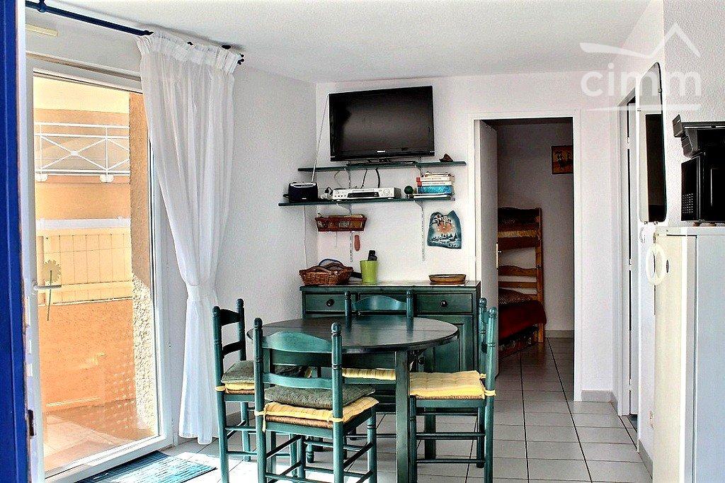 IMMOPLAGE VALRAS-PLAGE, agence immobilière, vente, location et location vacances appartement et maison entre Agde/Sete et Narbonne, proche Béziers - Appartement - VALRAS PLAGE - Location Vacances - 30m²
