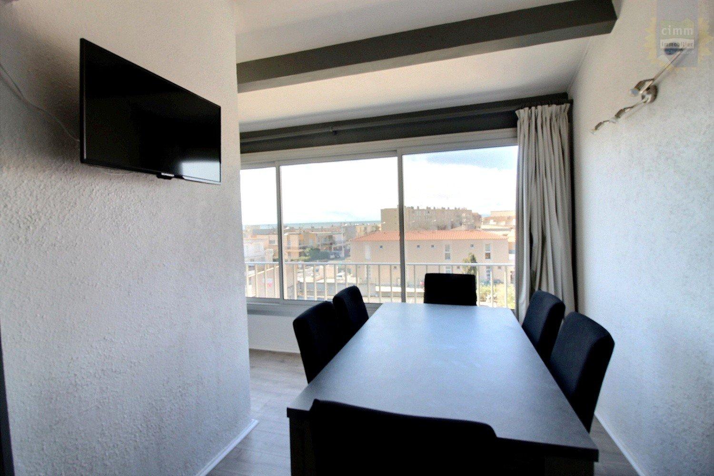IMMOPLAGE VALRAS-PLAGE, agence immobilière, vente, location et location vacances appartement et maison entre Agde/Sete et Narbonne, proche Béziers - Appartement - VALRAS PLAGE - Location Vacances - 39m²