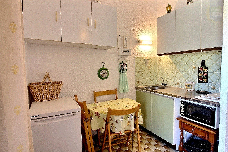 IMMOPLAGE VALRAS-PLAGE, agence immobilière, vente, location et location vacances appartement et maison entre Agde/Sete et Narbonne, proche Béziers - Appartement - VALRAS PLAGE - Vente - 19m²