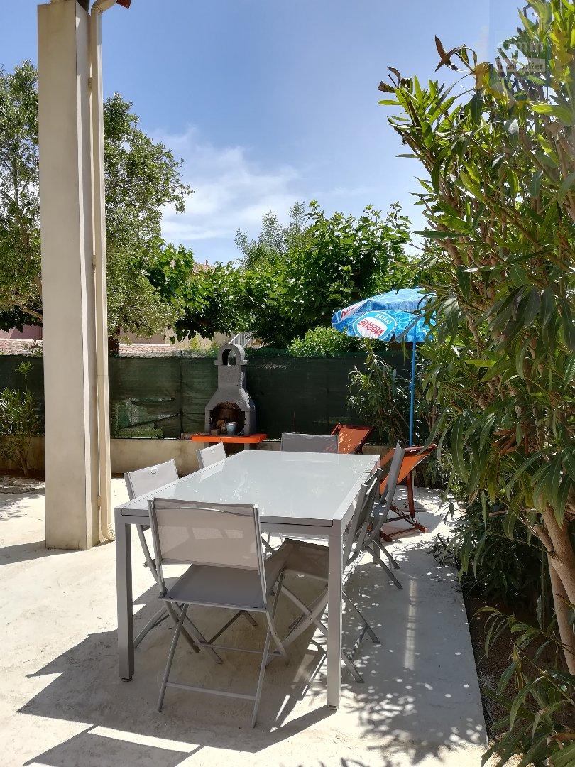 IMMOPLAGE VALRAS-PLAGE, agence immobilière, vente, location et location vacances appartement et maison entre Agde/Sete et Narbonne, proche Béziers - Maison - VALRAS PLAGE - Location Vacances - 45m²
