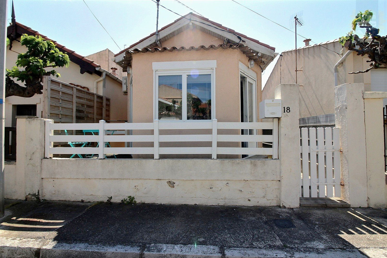 IMMOPLAGE VALRAS-PLAGE, agence immobilière, vente, location et location vacances appartement et maison entre Agde/Sete et Narbonne, proche Béziers - Maison - VALRAS PLAGE - Location Vacances - 49m²