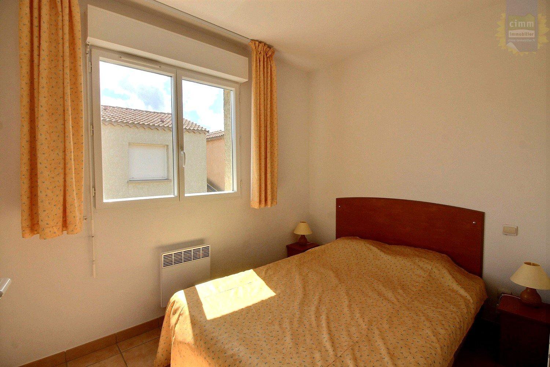 IMMOPLAGE VALRAS-PLAGE, agence immobilière, vente, location et location vacances appartement et maison entre Agde/Sete et Narbonne, proche Béziers - Maison en résidence - VALRAS PLAGE - Location Vacances - 38m²