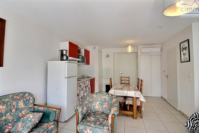 IMMOPLAGE VALRAS-PLAGE, agence immobilière, vente, location et location vacances appartement et maison entre Agde/Sete et Narbonne, proche Béziers - Appartement en résidence - SERIGNAN - Location Vacances - 31m²