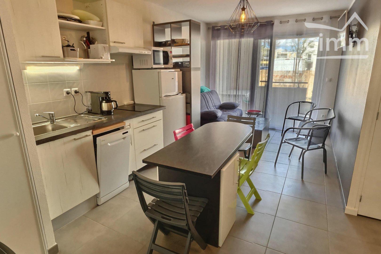Image - Appartement en résidence - SERIGNAN - Location Vacances - 32m² - IMMOPLAGE VALRAS-PLAGE