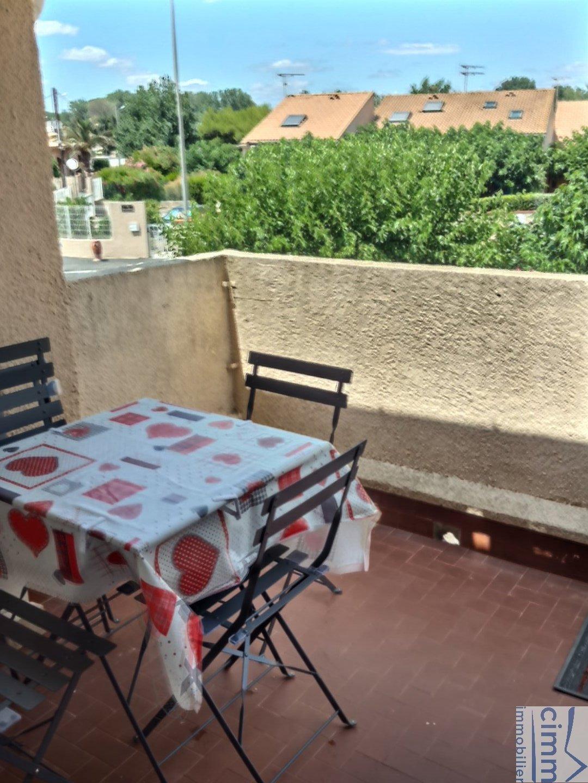 IMMOPLAGE VALRAS-PLAGE, agence immobilière, vente, location et location vacances appartement et maison entre Agde/Sete et Narbonne, proche Béziers - Appartement - VALRAS PLAGE - Location Vacances - 31m²