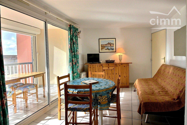 Image - Appartement - VALRAS PLAGE - Vente - 37m² - IMMOPLAGE VALRAS-PLAGE