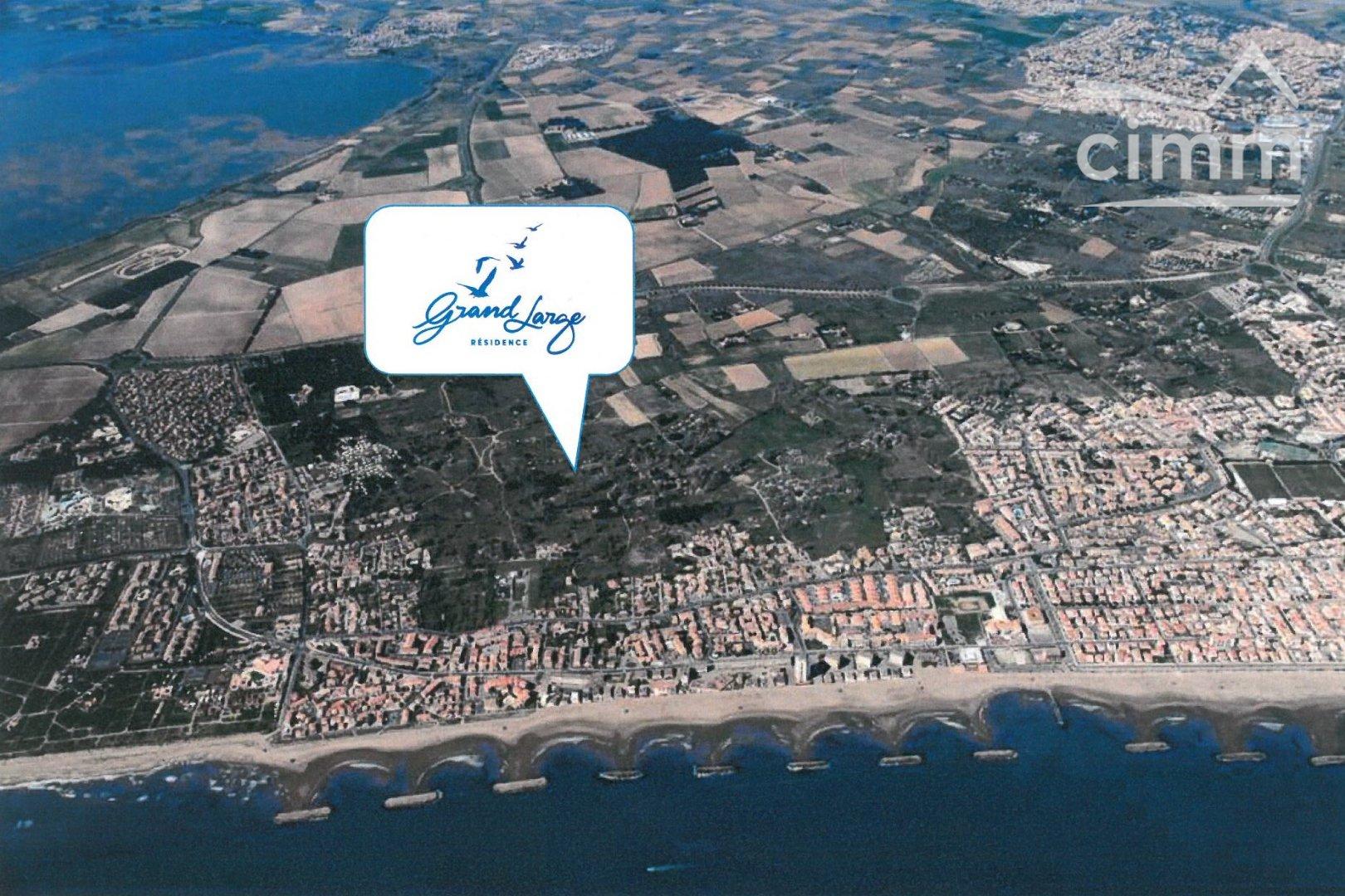 IMMOPLAGE VALRAS-PLAGE, agence immobilière, vente, location et location vacances appartement et maison entre Agde/Sete et Narbonne, proche Béziers - Appartement en résidence - VALRAS PLAGE - Vente - 44m²