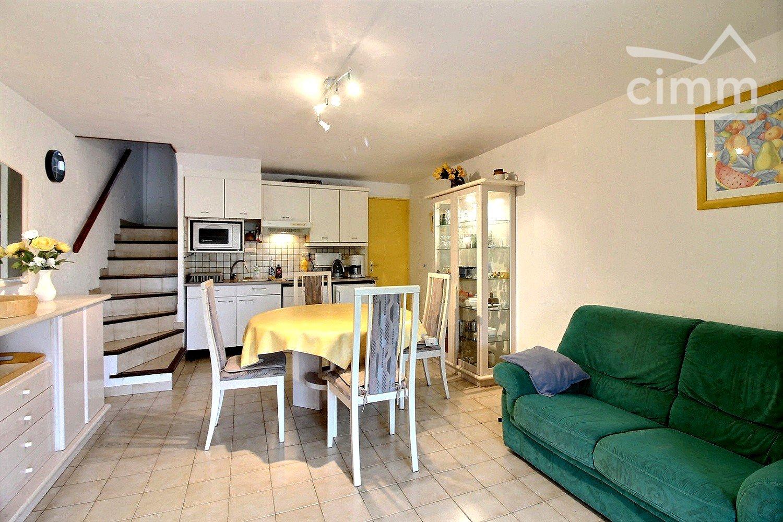 IMMOPLAGE VALRAS-PLAGE, agence immobilière, vente, location et location vacances appartement et maison entre Agde/Sete et Narbonne, proche Béziers - Maison en résidence - VALRAS PLAGE - Vente - 63m²