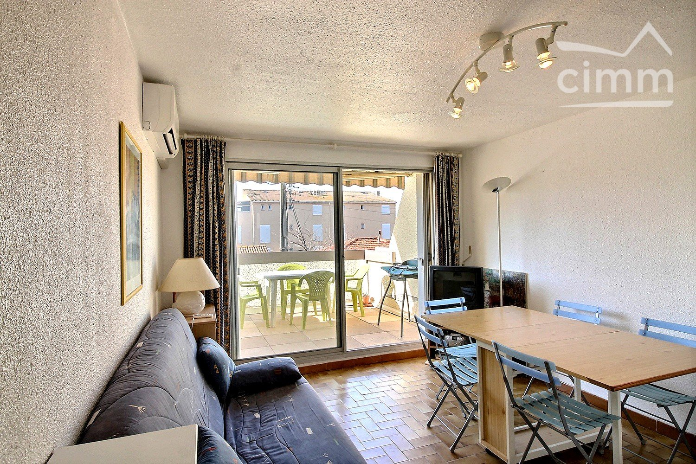 Image - Appartement en résidence - VALRAS PLAGE - Vente - 30m² - IMMOPLAGE VALRAS-PLAGE