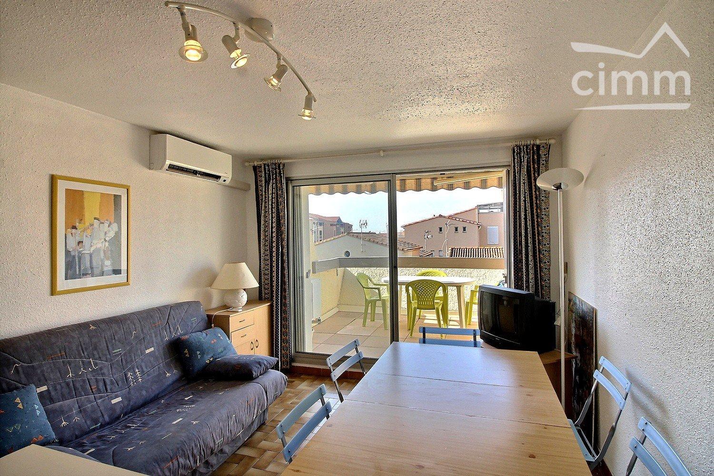 IMMOPLAGE VALRAS-PLAGE, agence immobilière, vente, location et location vacances appartement et maison entre Agde/Sete et Narbonne, proche Béziers - Appartement en résidence - VALRAS PLAGE - Vente - 30m²