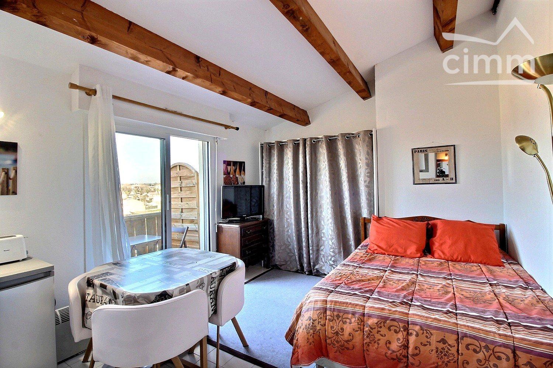 IMMOPLAGE VALRAS-PLAGE, agence immobilière, vente, location et location vacances appartement et maison entre Agde/Sete et Narbonne, proche Béziers - Studio - VALRAS PLAGE - Location Vacances - 18m²