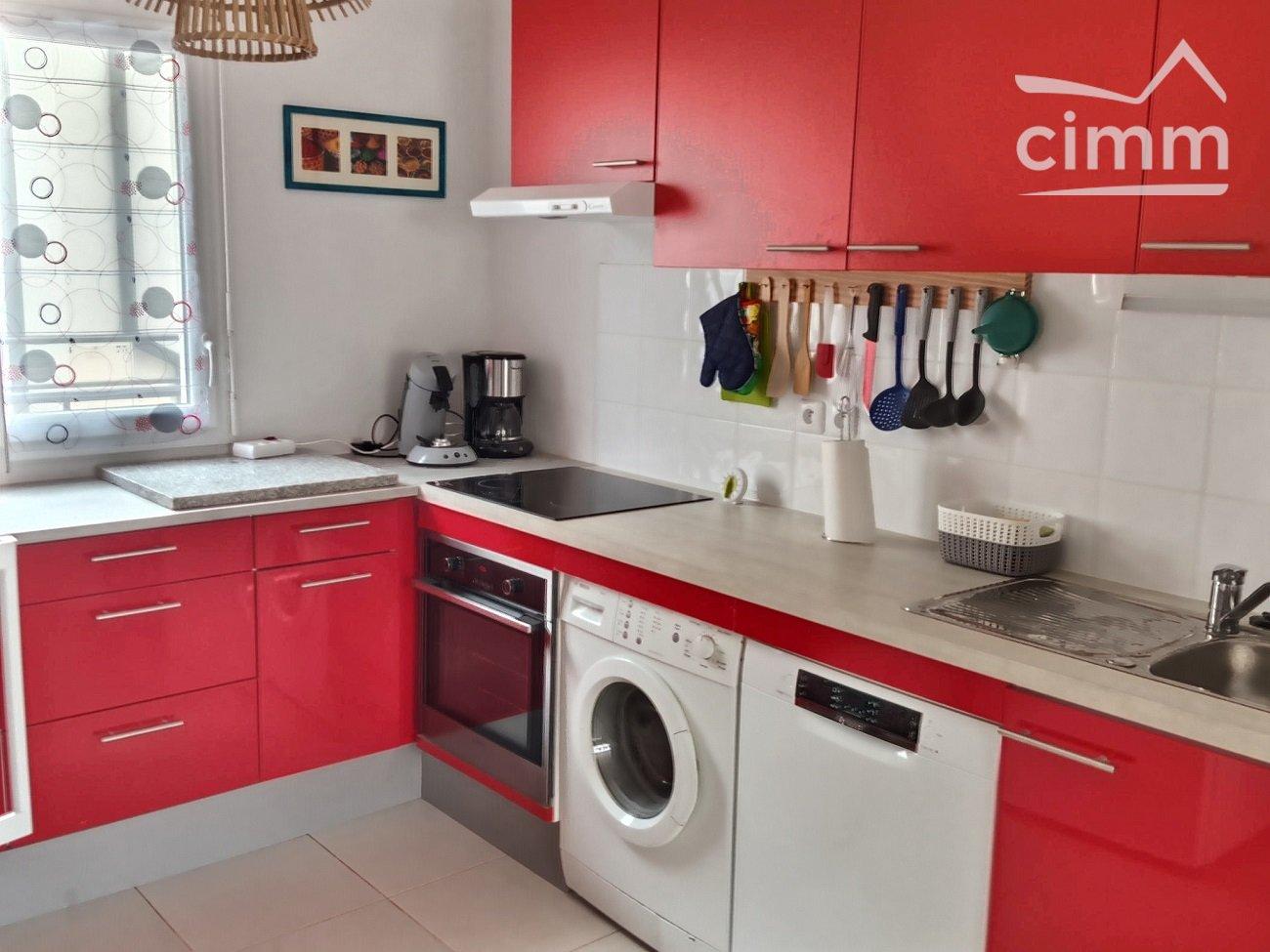 IMMOPLAGE VALRAS-PLAGE, agence immobilière, vente, location et location vacances appartement et maison entre Agde/Sete et Narbonne, proche Béziers - Pavillon - SERIGNAN - Location Vacances - 71m²