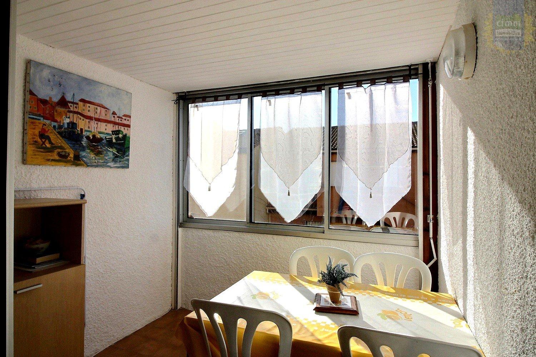 IMMOPLAGE VALRAS-PLAGE, agence immobilière, vente, location et location vacances appartement et maison entre Agde/Sete et Narbonne, proche Béziers - Appartement - VALRAS PLAGE - Location Vacances - 25m²