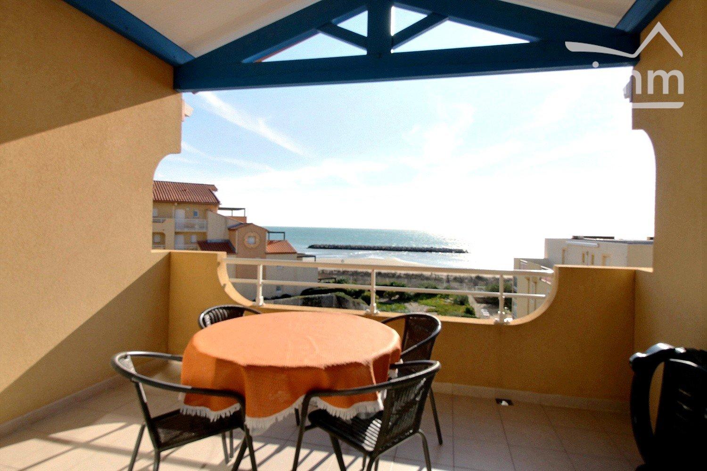 IMMOPLAGE VALRAS-PLAGE, agence immobilière, vente, location et location vacances appartement et maison entre Agde/Sete et Narbonne, proche Béziers - Appartement - VALRAS PLAGE - Location Vacances - 55m²