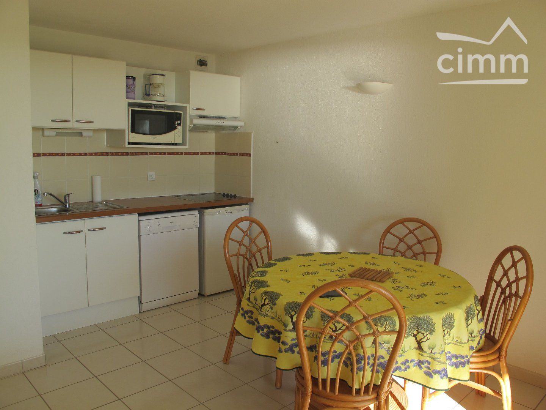 IMMOPLAGE VALRAS-PLAGE, agence immobilière, vente, location et location vacances appartement et maison entre Agde/Sete et Narbonne, proche Béziers - Appartement - VALRAS PLAGE - Location Vacances - 37m²