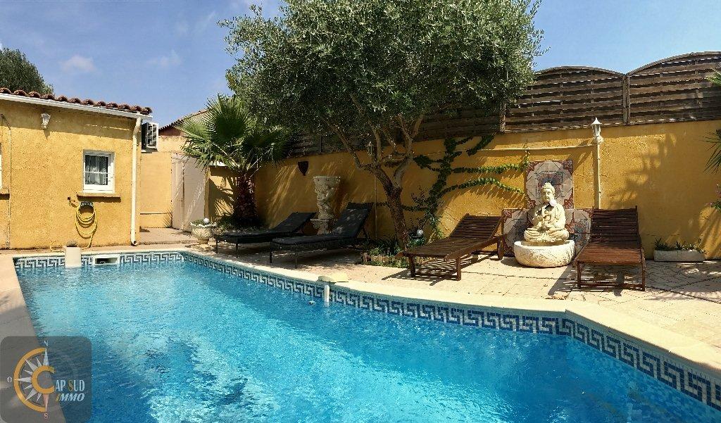 vente maison/villa 4 pièces LESPIGNAN 34710