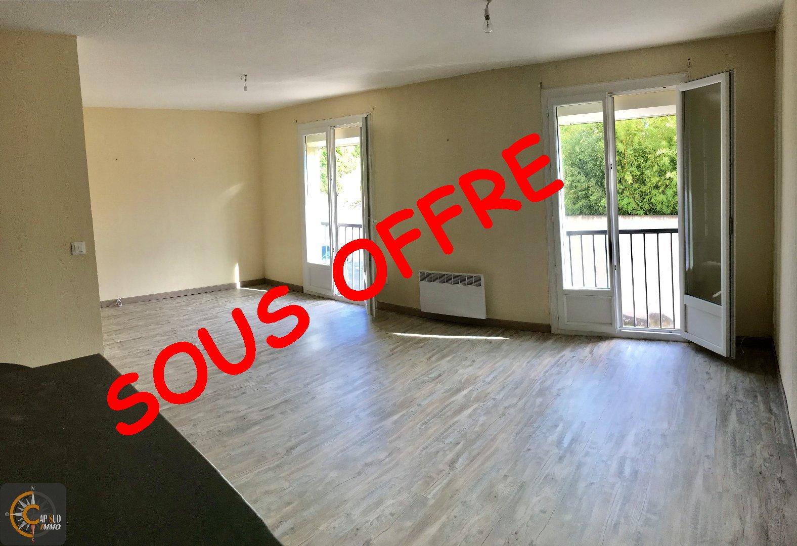 vente appartement 3 pièces LESPIGNAN 34710