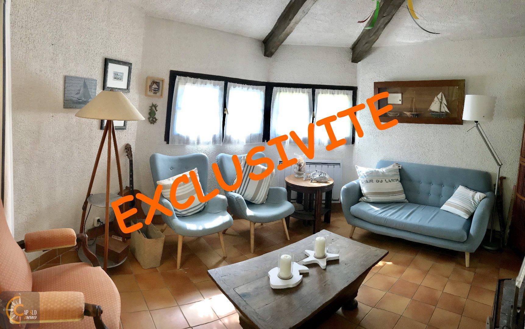 vente maison/villa 6 pièces VALRAS PLAGE 34350