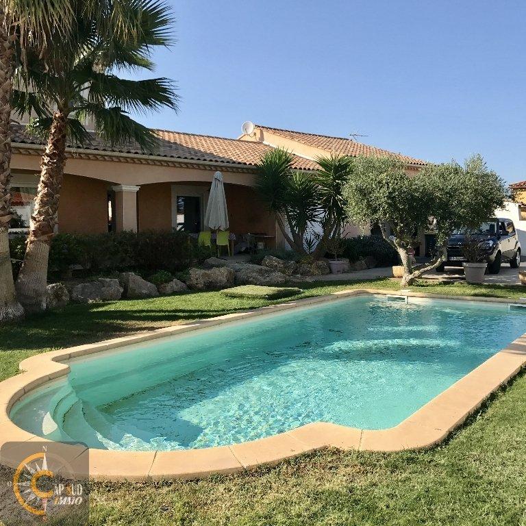vente maison/villa 5 pièces SAUVIAN 34410