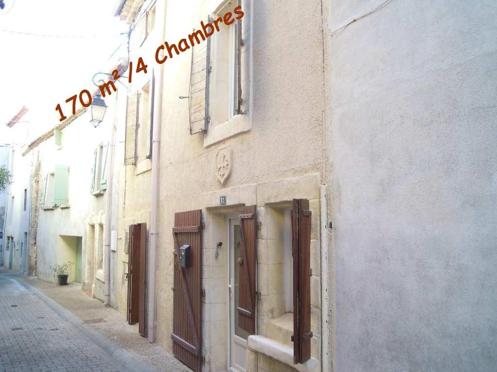 vente maison/villa 6 pièces CAZOULS LES BEZIERS 34370