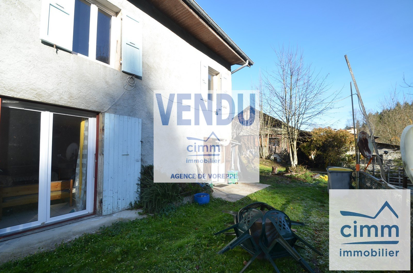 vente maison/villa 4 pièces SAINT JULIEN DE RAZ 38134