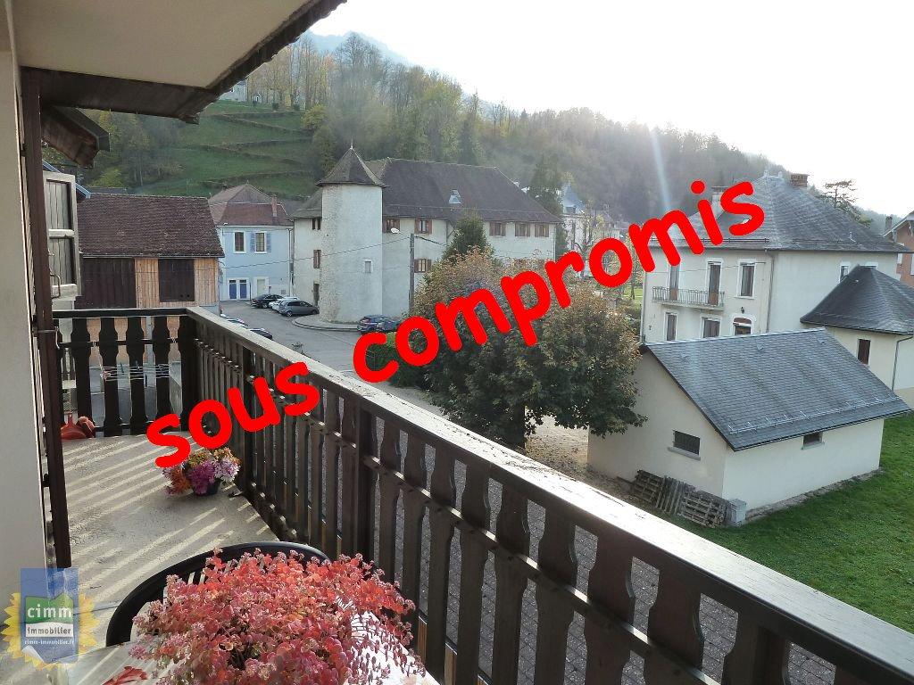 vente appartement 2 pièces SAINT LAURENT DU PONT 38380