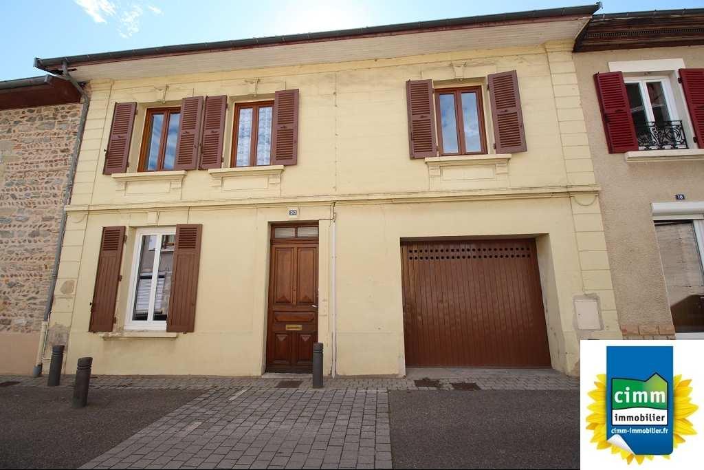 location maison/villa 6 pièces SAINT JEAN DE BOURNAY 38440